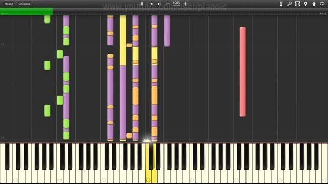 اجرای Brother Louie با نرم افزار پیانو - سرعت 100%