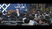روضه خوانی حاج منصوردر ختم مادر حاج مهدی سلحشور