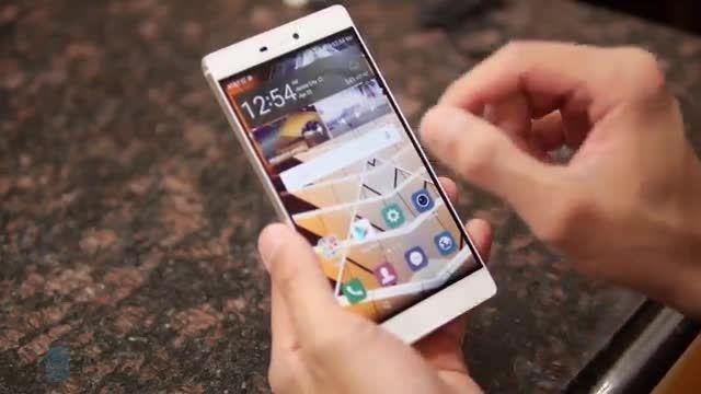 بررسی Huawei p8