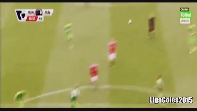 خلاصه بازی من یونایتد 3 - 0 ساندرلند