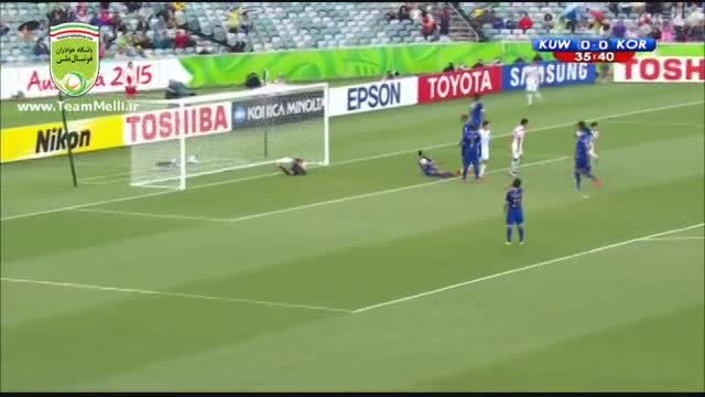 کره جنوبی 1 - 0 کویت (جام ملت های آسیا 2015)