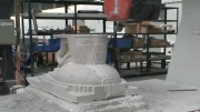 ماشین کاری بر روی سنگ با سی ان سی پنج محوره