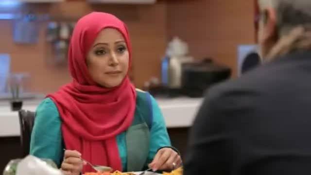 غذا خوردن خنده دار مهران مدیری