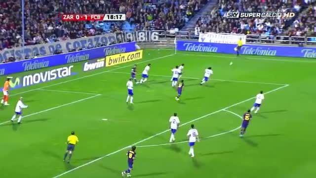 هایلایت کامل بازی لیونل مسی مقابل زاراگوزا (2009)