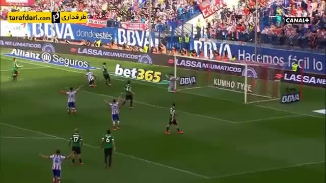خلاصه بازی اتلتیکو مادرید 0 - 0 اتلتیک بیلبائو
