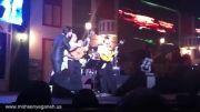 ویدیو دیدنی شیرین کاری محسن یگانه در اجرای 30 مهرماه تهران