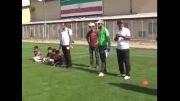 برگزاری فستیوال مدارس فوتبال در شهرستان نیر