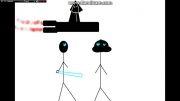 انیمیشن جنگ ستارگان-جنگ اوبی وان و جک-14-ساخت خودم