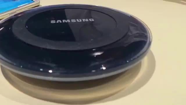 جالب و بی سیم شارژ Galaxy s6 edge - Galaxy s6