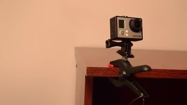 ساخت دستی لوازم جانبی دوربین گوپرو
