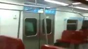 پارکور کاران حرفه ای در مترو