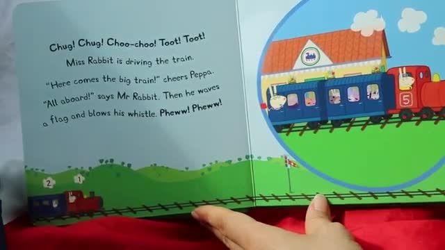 کتاب Peppa Pig Peppa and the Big Train
