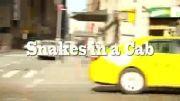 دوربین مخفی فوق العاده خنده دار..(مار در تاکسی).....