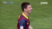 آلمریا vs بارسلونا | 0 - 1 | گل مسی