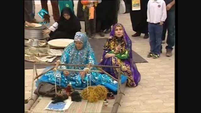کاروان فرهنگ ایران در بندر گناوه