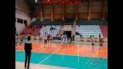 تمرینات تعاون گنبد در سالن المپیک گنبد کاووس!