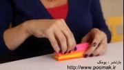 آموزش ساخت بادبزن کاغذی برای تزیین تولد