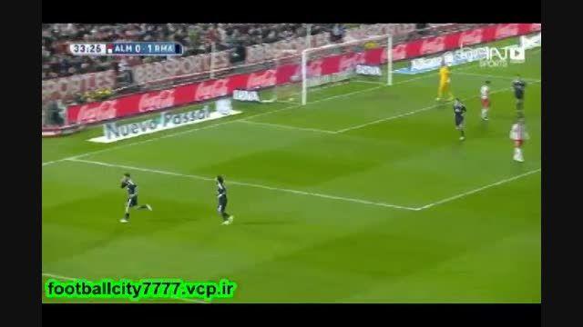 خلاصه بازی آلمریا 1 - 4 رئال مادرید(لالیگا اسپانیا)