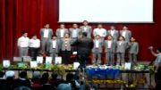 اجرای سرود مدرسه راهنمائی پسرانه مفتاح-جشن تکلیف 92-91