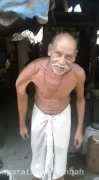 مردی باانعطاف بدنی عجیب!!!