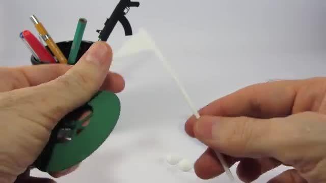 ساخت وسایل بازی گلف مینیاتوری با پرینتر سه بعدی