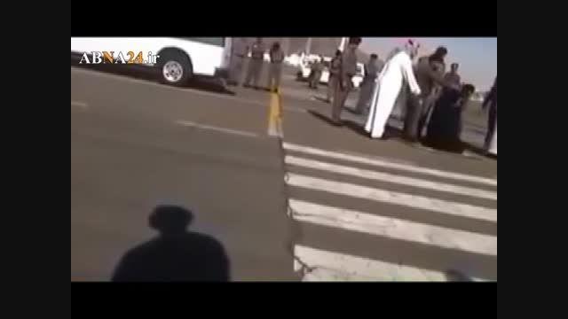 گردن زدن هولناک یک زن در عربستان (۱۸+)
