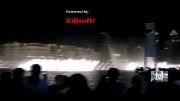 بزرگترین رقص نور و آب نما در برج خلیفه دبی