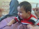 خنده بامزه بچه ایرانی