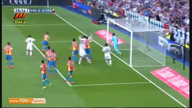 خلاصه بازی: رئال مادرید ۲-۲ والنسیا