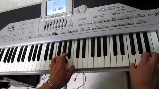 آهنگ برای من نوشته معین باپیانو ارگ pa1x
