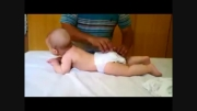 ماساژ نوزاد گوگولی