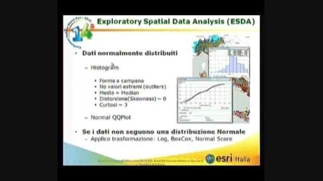 Analisi Geostatistica con ArcGIS: ArcGIS Geostatistical