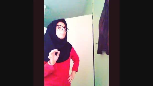 ویدیو خنده دار یه دختر:/