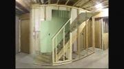 ساخت یک واحد مسکونی به روش ساخت و ساز خشک