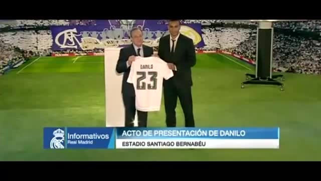 معارفه دنیلو (بازیکن جدید رئال مادرید)