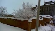 سفید پوش شدن فصل پائیز1392/ دانسفهان