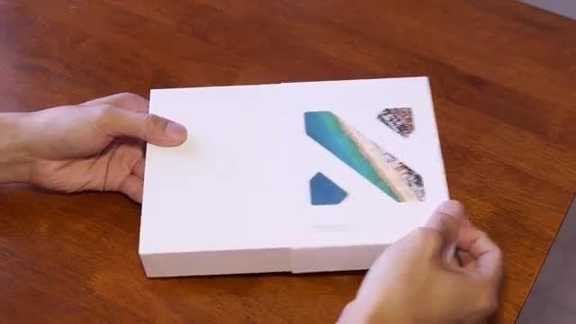 جعبه گشایی نکسوس 5 ایکس ال جی