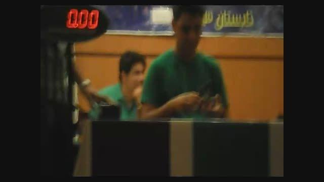 اولین حل روبیک محمدرضا کریمی در اولین حضور در فینال