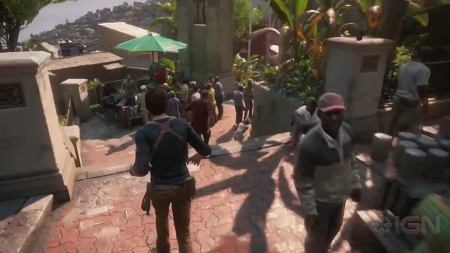 گیم پلی بازی Uncharted 4: A Thief's End