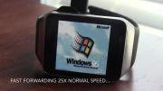 ویندوز 95 در ساعت هوشمند گیر لایو سامسونگ - زومیت
