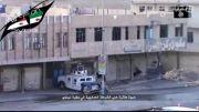 ترکوندن خودروی نظامی عراقی توسط داعش .()