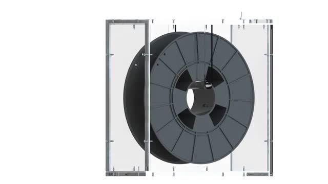 ساخت جعبه ایمن برای فیلامنت پرینتر سه بعدی