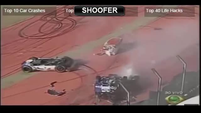 10تا از خطرناکترین تصادفات در مسابقات کامیون رانی