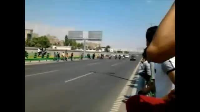 موتور سنگین اتوبان همت ***********