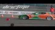کلیپ دریفت - Tony Angelo Has Rear Wheel Issues at Belarus