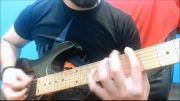 گیتاریست حرفه ای ایرانی __ گیتار الکتریک __ ریف نوازی