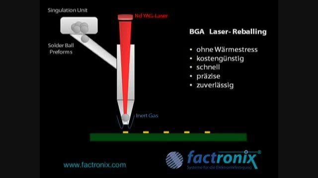 تعمیرات موبایل - تعویض آی سی BGA با دستگاه (لیزری)