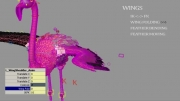 caracter  rigging bird کاراکتر رجینگ پرنده درنا maya-3dsmax