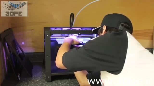 پرینت سه بعدی بدون نیاز به چسبکاری صفحه پرینت!