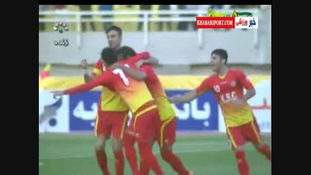 خلاصه بازی استقلال خوزستان ۰-۳ فولاد